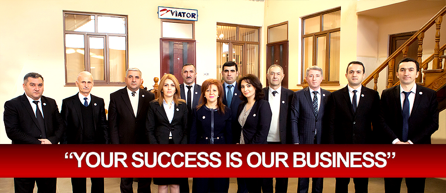 """Your success is our business"""